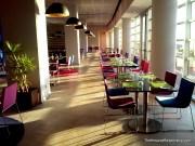 An empty hotel