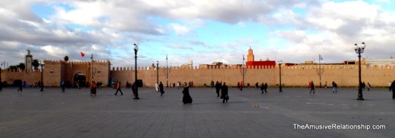 The old medina walls