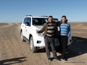 Our host, Abdo, and our driver