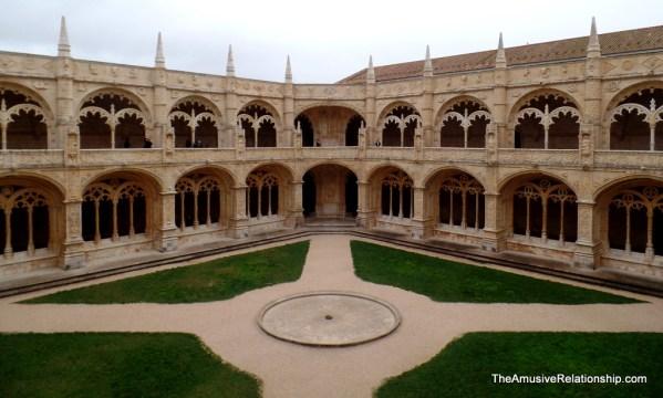 Courtyeard of Jerónimos Monastery