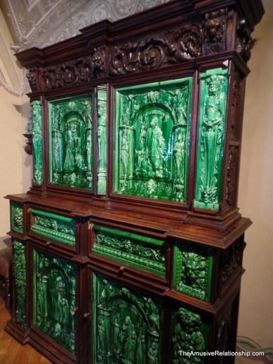 Enameled furniture