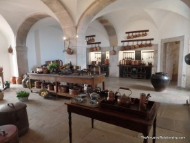 The palace kitchen