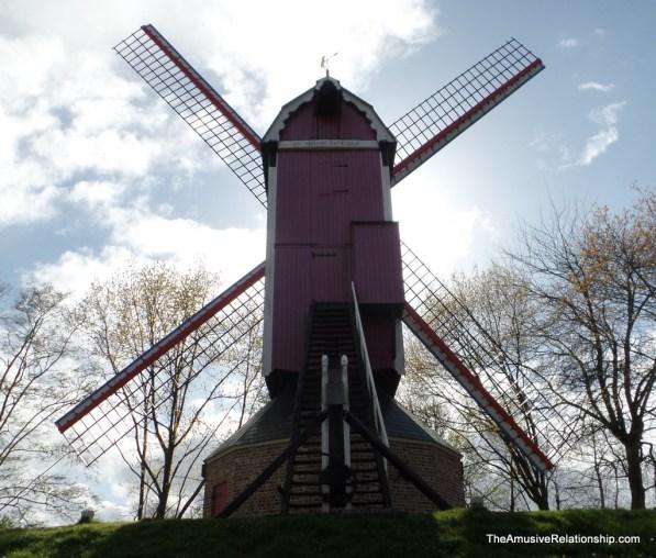 Bruges windmill