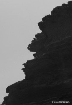 Legzira Beach or the profile of an old man?