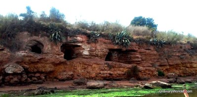 Riverside caves for solitary retreat