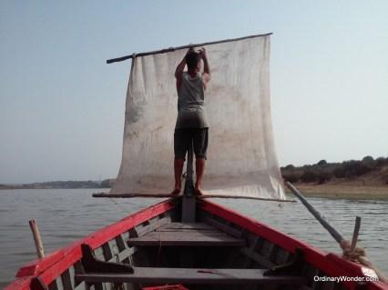 Enough rowing, time to sail