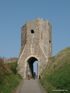 Sentry gate at Dover Castle