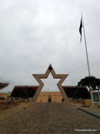 Entrance to the fort museum