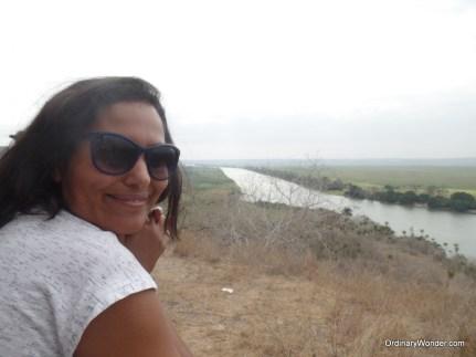 Nissrine and the Kwanza River