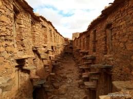 Large Amazigh agadir near the village of Itoghayn