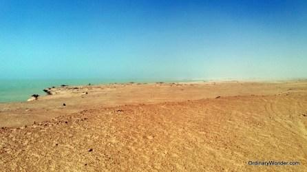 Coastal Nouadhibou near Cap Blanc