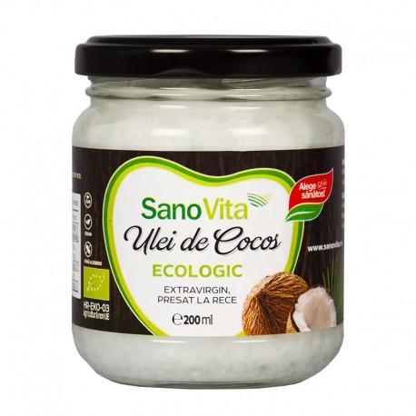 Ulei de cocos SanoVita