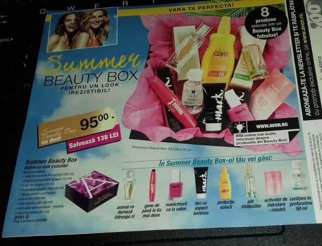Avon summer beauty box