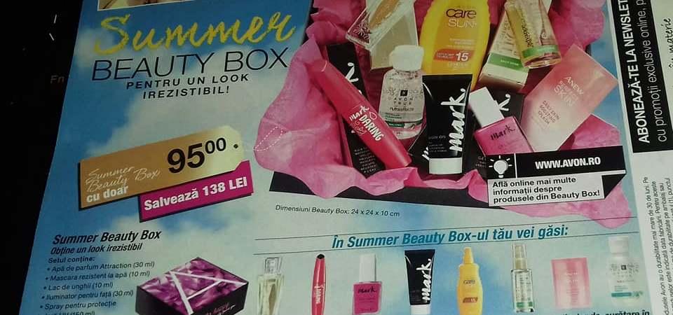 Avon România lansează primul său Summer Beauty Box