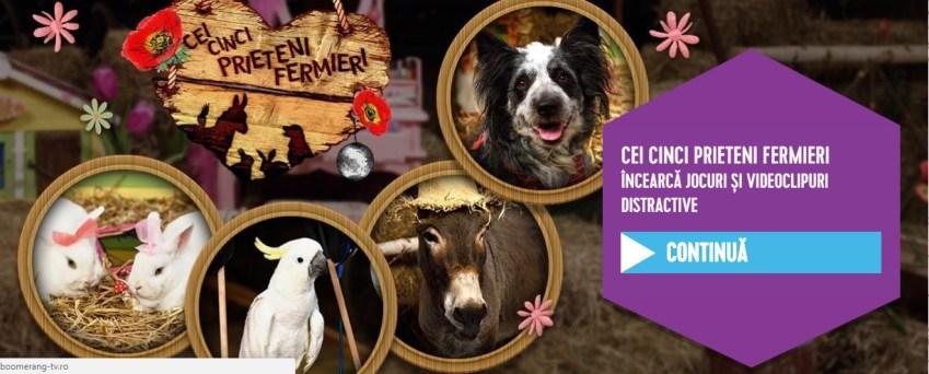 Cei cinci prieteni fermieri