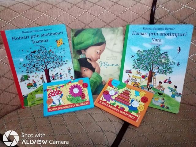 carti potrivite pentru copii mici