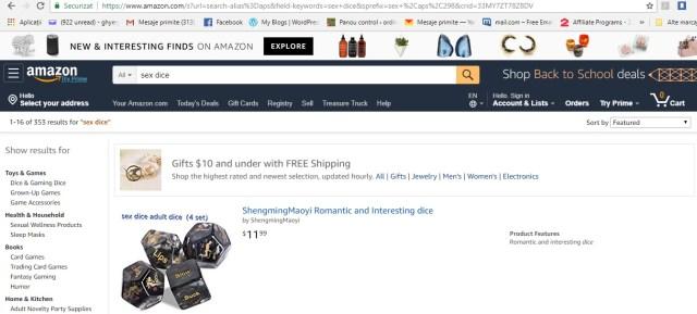 Zaruri cumparate de pe Amazon