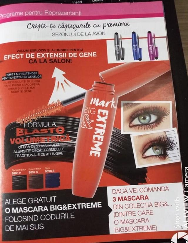 Mascara cu formula elasto volumetrica in Campania 13