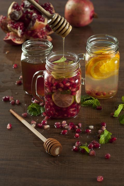limonada de fructe cu miere