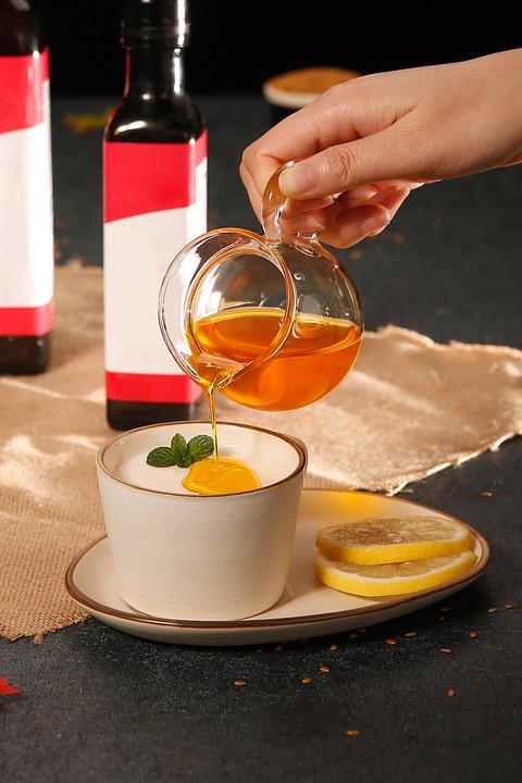 ceai indulcit cu miere