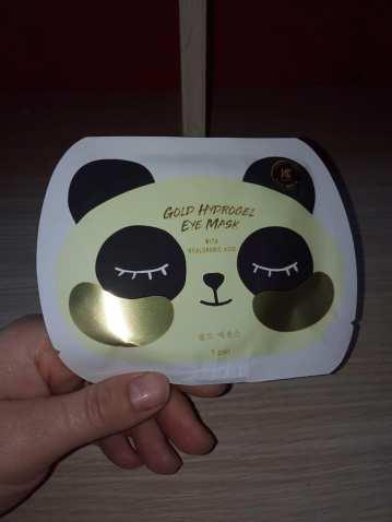 masca de ochi cu aur si hidrogen