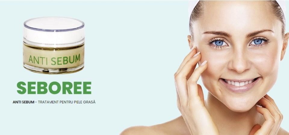 Excesul de sebum se poate trata cu produse dermatocosmetice