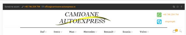 date de contact camioane express