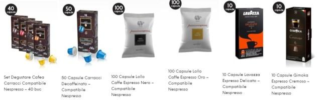 tipuri de cafea pentru expressoare