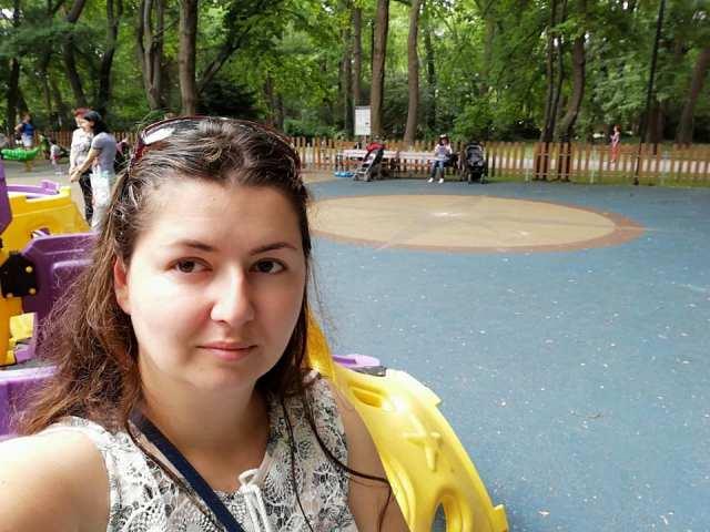 in parc cu copiii