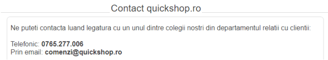 quickshop.ro