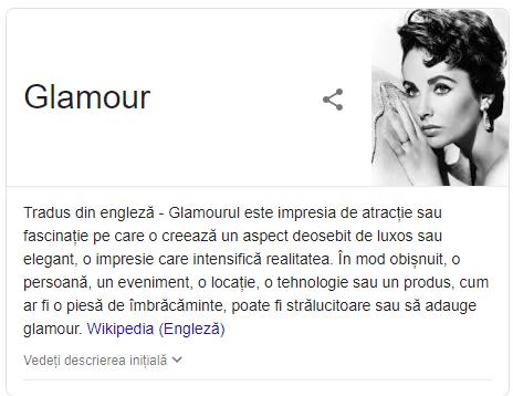 definitie glamour