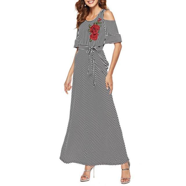 rochie lunga dungi
