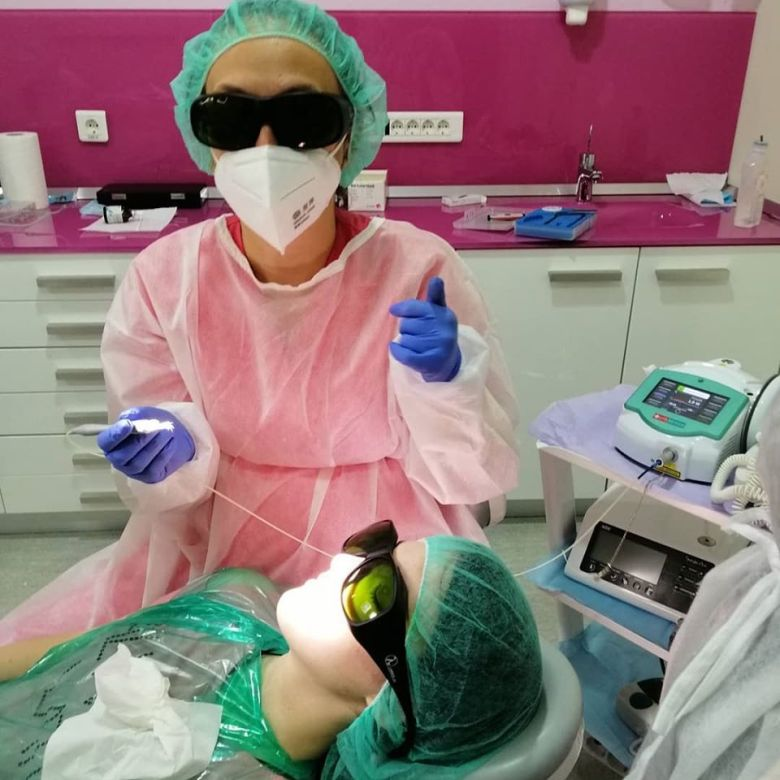 tratament laser criss-smile