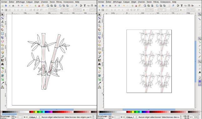 Bambous Inkscape
