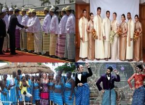 lungi worn at occasion