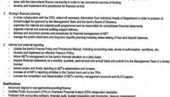Financial Manager Job Description | Accounts Manager Job Description Ordnur Textile And Finance