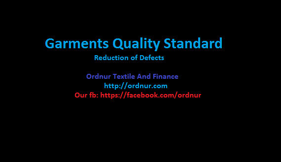 Garments Quality Standard