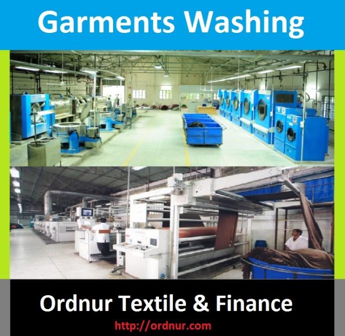 Garments Washing Process