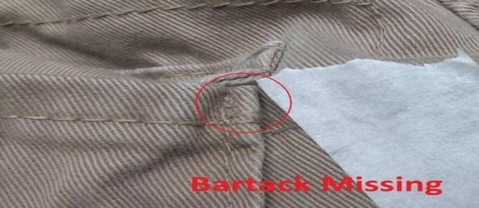 Bartack Missing