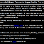 Job Responsibilities of Garments Buyer QC Quality Control
