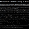 Job Responsibilities of Quality AGM or GM in Apparel Industry