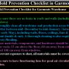 Mold Prevention Checklist in Garments