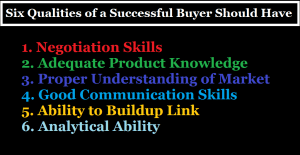Qualities of a Good Buyer