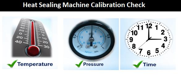 Heat Sealing Machine Calibration Check