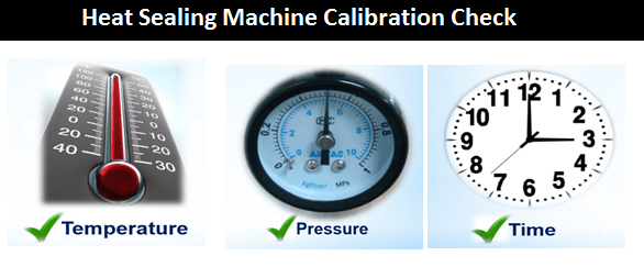Heat Sealing Machine Calibration Check