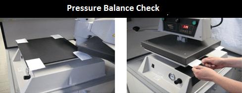 Pressure Balance Check