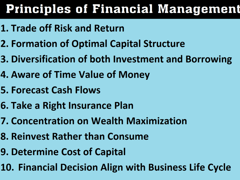 10 Principles of Financial Management [Updated]