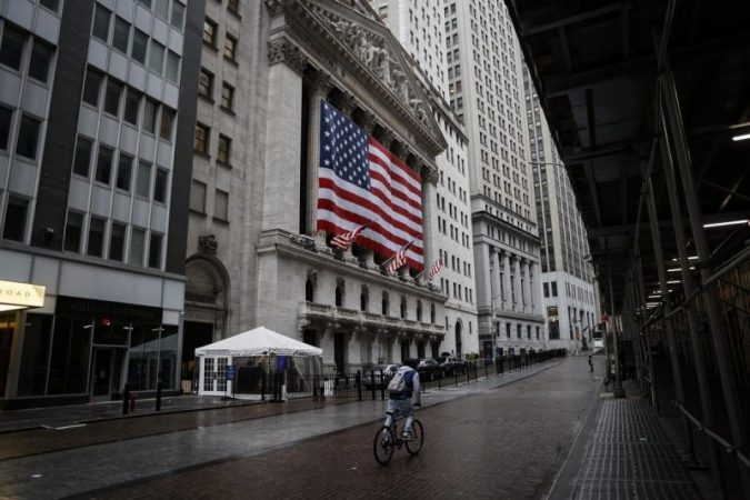 Dow and SP rise Nasdaq declines amid continued fears of virus effects