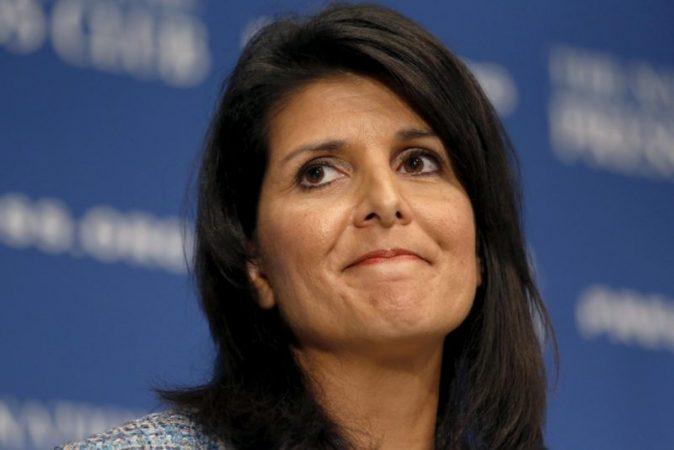 Former US ambassador to UN Haley leaves Boeing