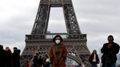 Photo of France reports 357 new coronavirus hospital deaths